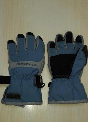 Перчатки trespass  для мальчика 8-10 лет