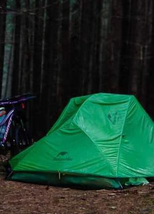 Палатка River Star 2 человека 20 D силиконейлон два слоя.