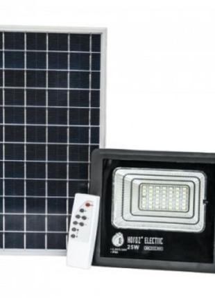 Автономный светодиодный уличный прожектор на солнечной батарее...