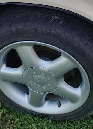 Летние низкопрофильные колёса R15 в сборе