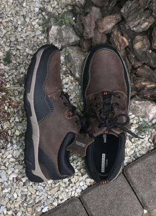 Оригинальные мужские кожаные спортивные туфли кроссовки clarks...