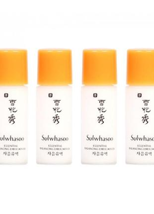 Эмульсия для лица sulwhasoo essential balancing emulsion 5 мл