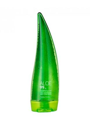 Гель алое soothing gel 99% от holika holika