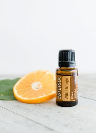 Дикий апельсин (Citrus sinensis), эфирное масло, 15 мл