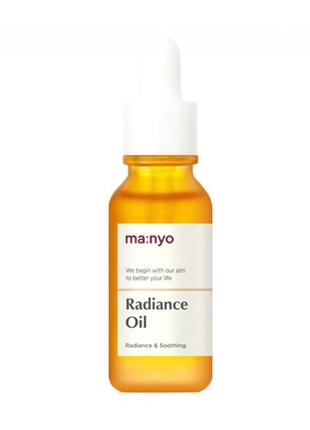 Масло для лица manyo factory radiance oil с эффектом сияния