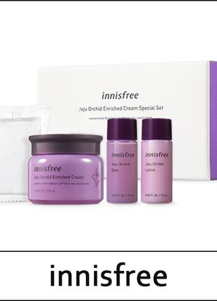Набор innisfree jeju orchid enriched cream special set