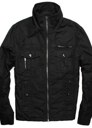 Куртка selected черная мужская