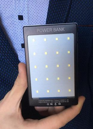 Power Bank powerbank 50000 mAh Solar LED
