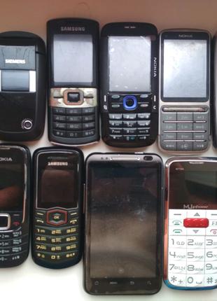 Мобильные телефоны - Siemens, Nokia, Samsung и другие.