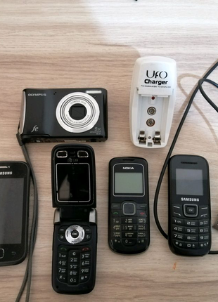 Мобильные телефоны дёшево, фотоаппарат