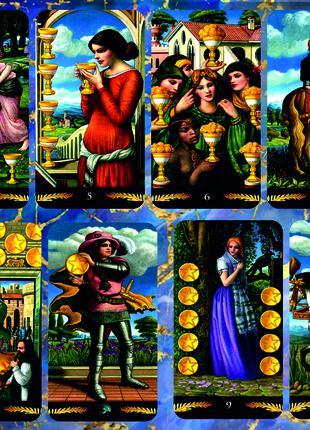 Pre-Raphaelite Tarot — Таро Прерафаэлитов Реплика