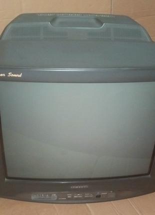 Телевизор с Супер Звуком 54 см диагональ Samsung CK-5399ZR Super