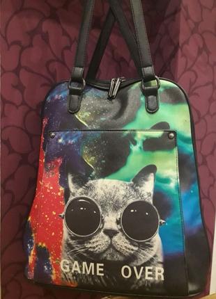 Сумка-портфель,  сумка-рюкзак