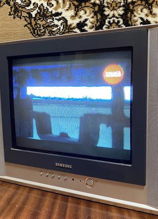 Рабочий цветной телевизор TV ТВ Самсунг samsung CS-15K30MJQ