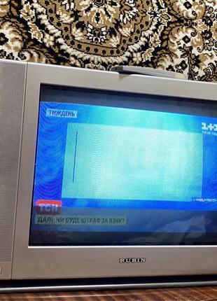 Рабочий! Цветной Телевизор ТВ TV Рубин 55FS10T RUBIN