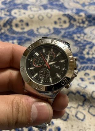 Оригинальные часы Япония! Кварцевые хронограф наручные часы