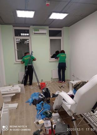 УБОРКА После Строительства Киев
