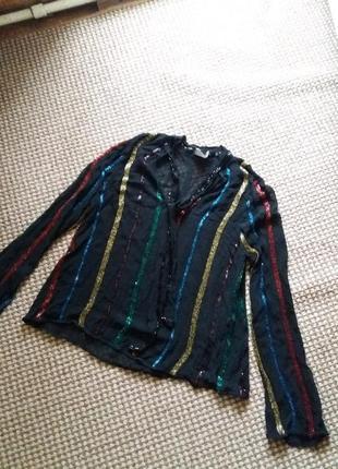 Кофта блуза asos расшив пайетки