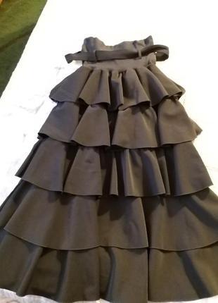 Многоярусная юбка италия