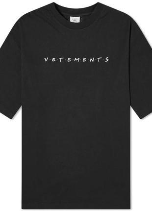 Футболка ветеменс |фуболка серая vetements  | футболка vetemens