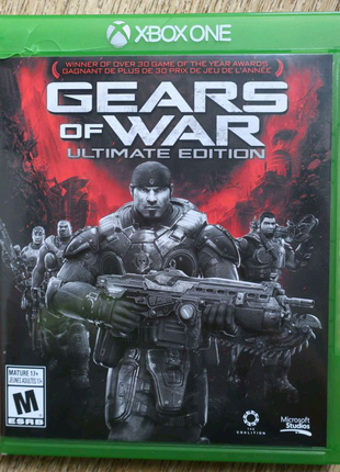 Gears of War: Ultimate Edition диск для xbox