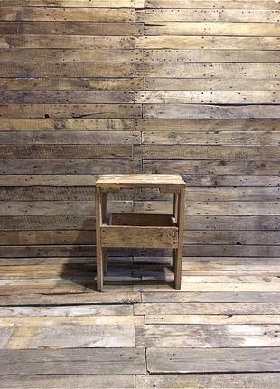 Деревянный Стул Табуретка под Винтаж (50х40х29х2,5 см)