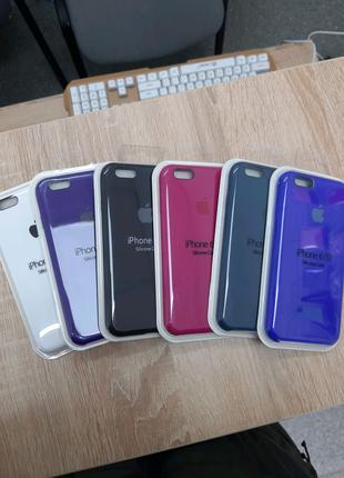 Чехол накладка Silicone case apple iphone 6 / 6s