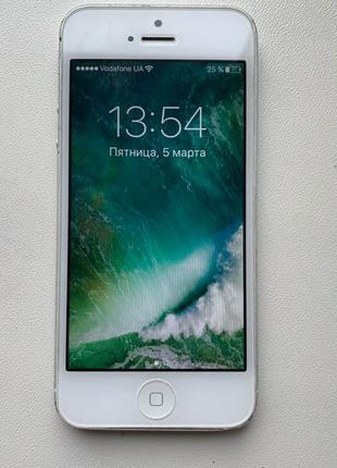 Продам iPhone 5/16gb