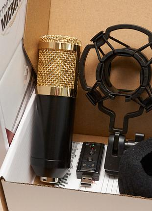 """""""Топ Блогер"""" микрофон BM-800 конденсаторный. Набор """"Базовый"""""""