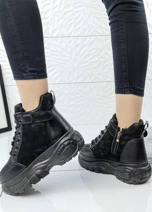 Модные зимние ботинки в стиле buffalo 39-41р