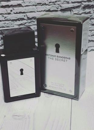 Antonio Banderas The Secret, мужская туалетная вода 100 мл.