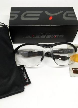 Защитные очки Swiss Eye Lancer прозрачные, стрелковые