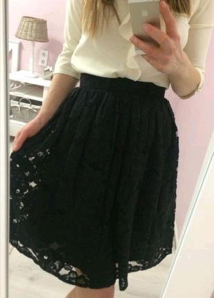 Гипюровая юбка Oodji