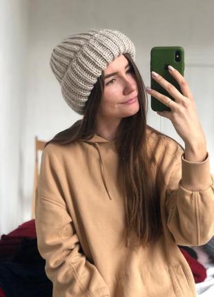 Шапка или комплект шапка + хомут тёплые комплекты