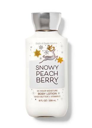Лосьон для тела Snowy Peach Berry Bath and Body Works