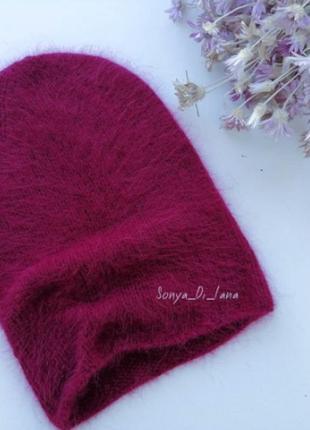 Ангоровая шапка. качество люкс