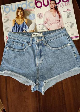 Шорты джинсовые tally weijl р.34