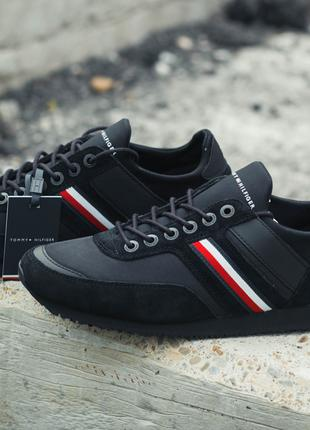 Кожаные кроссовки Tommy Hilfiger(Оригинал)!