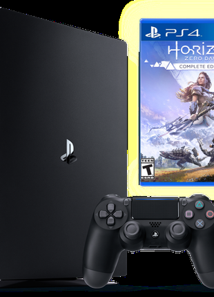 Sony Playstation 4 PRO 1Tb + Horizon Zero Dawn