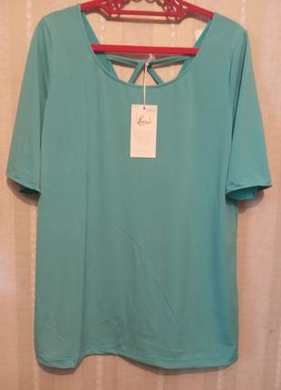 Блуза итальянская из легкого трикотажа очень хорошего качества