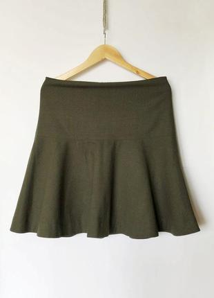 Шерстяная юбка cos sandro uniqlo