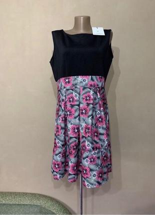 Платье Новое весна лето размер 54 , красивое нежное