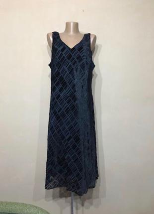 Плаття чорне нарядне , літнє , розмір 54 56