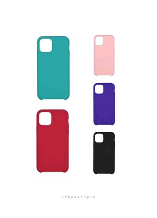 Чехлы для iphone 11 pro силиконовые soft touch