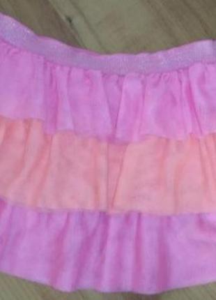 Яркая юбка детская
