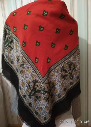 Красивый большой платок италия