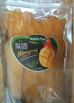 Манго Holland Fruit 500г сушеное