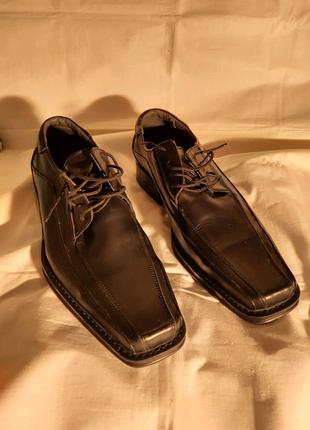 Туфли мужские Vaslav Размер 40. Длина по стельке 27 см