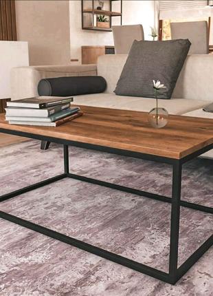 Журнальний столик, стол в комнату, стол в стиле Лофт