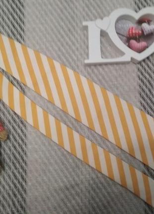 Шелковый дизайнерский галстук в модную полоску ручная работа и...